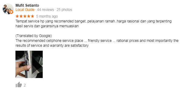 review service hp malang